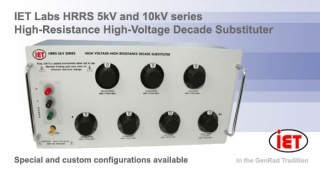 HRRS high resistance decade box