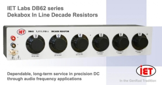 IET DB62 dekabox In-Line decade resistors