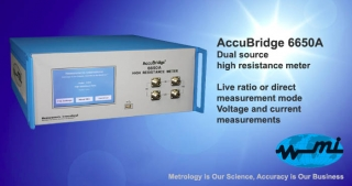 AccuBridge 6650A Dual source high resistance meter