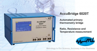 AccuBridge 6020T, automated primary thermometry bridge