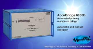 AccuBridge 6000B Automated primary resistance bridge