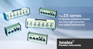 ZX decade resistance boxes, Tinsley