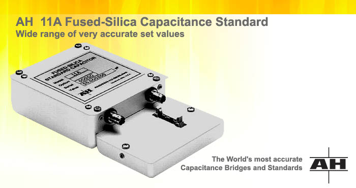 AH 11A fused-silica capacitance standards