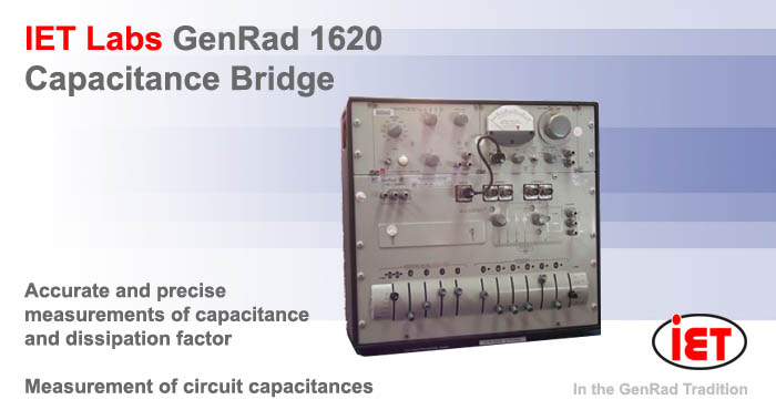 IET GenRad 1620 Capacitance bridge