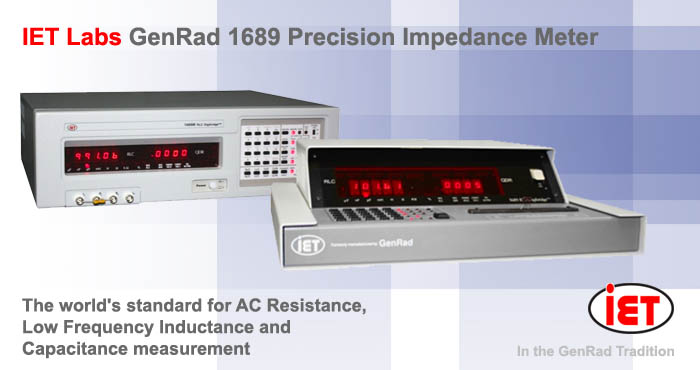 Lcr Impedance Meter : Genrad precision impedance meter lcr inductance