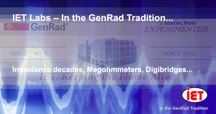 IET Labs In the GenRad Tradition