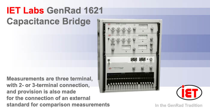 IET GenRad 1621 Capacitance bridge