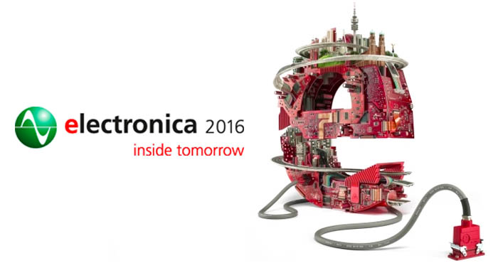 Electronica 2016, international trade fair for electronic components, systems and applications-2