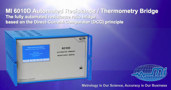 MI 6010D Automated Resistance_Thermometry Bridge
